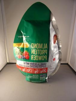 100 percent almond protein powder vanilla berry