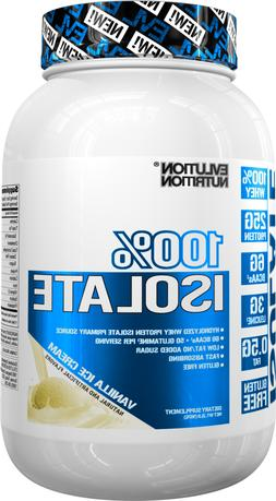 Evlution Nutrition 100% Isolate   Hydrolyzed Whey Isolate Pr