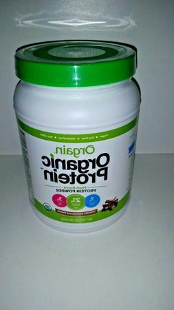 2 NEW Orgain Organic Protein Plant Based Powder Creamy Choco