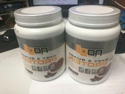 2 Nogii Whey & Quinoa PROTEIN COCOA CHOCOLATE POWDER 1.5 LB