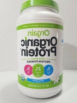 2 Pack - Orgain Organic Plant Based Protein Powder 2.03 lbs