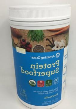 Amazing Grass 21.9oz Protein Superfood Pure Vanilla All In O