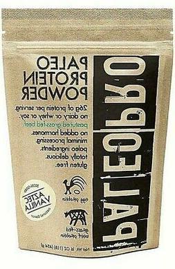 3 BAGS  4/21 PALEO PRO AZTEC VANILLA PALEO PROTEIN POWDER SH