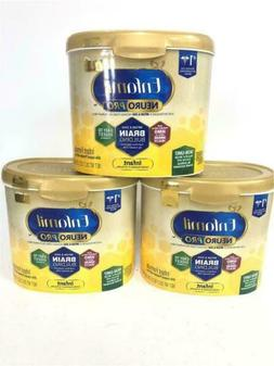 3 Pack Enfamil NeuroPro Infant Formula Reusable Powder Tub,