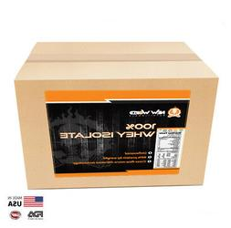 5lb Bulk Whey Protein ISOLATE  Manufacturer Direct VANILLA