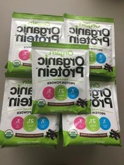 40 Packets Orgain Organic Protein Powder Creamy Chocolate Fu
