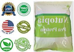 Fresh 5 LBS Organic Pure Pea Protein Powder. Non-GMO, Vegan,