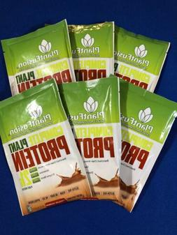 6 PlantFusion Complete Plant Based Protein Powder Chocolate