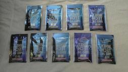 Count Lot Bodytech Whey Tech Pro 24 Strawberry Vanilla 1 Oz
