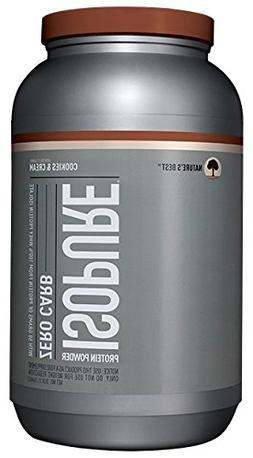 Nature's Best - Isopure Zero Carb Cookie Cream, 3 lb powder