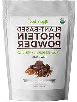 Pure Food: The Healthiest Plant Based Protein Powder with Pr