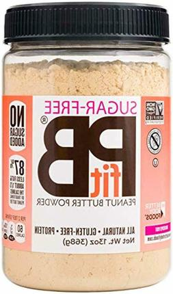 PBfit All-Natural Peanut Butter Powder, Sugar-Free , 8g of P