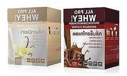AllPro Whey Protein Drink Powder 500g Sports nutrition weigh