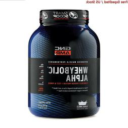 GNC AMP Wheybolic Alpha Whey Protein Powder, Classic Vanilla