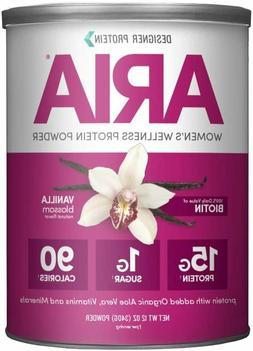 Designer Protein Aria, Vanilla, 12 Oz, Women's Wellness Prot