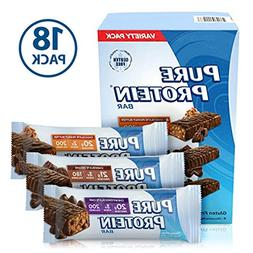Pure Protein Bars, Healthy Snacks to Support Energy, Variety