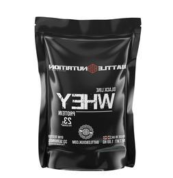 Battle Nutrition ® Black Line 100% PURE Whey Protein Bodybu