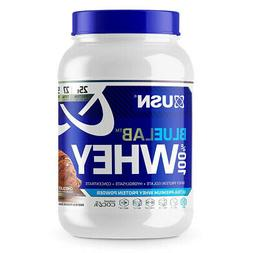 USN Blue Lab 100% Whey Protein Isolate Powder 2LBS - Choclat