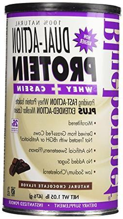 BlueBonnet 100% Natural Dual Action Protein Powder, Chocolat