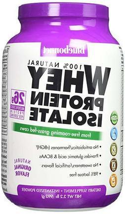 Bluebonnet Nutrition Whey Protein Isolate Powder, Original F