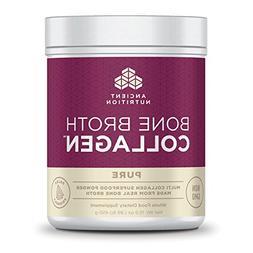 Ancient Nutrition Bone Broth Collagen Pure - 30 Servings - P