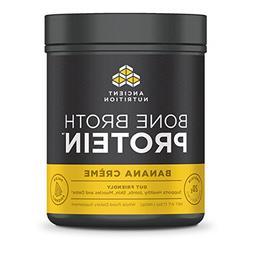 Ancient Nutrition Bone Broth Protein Powder - Banana Creme -