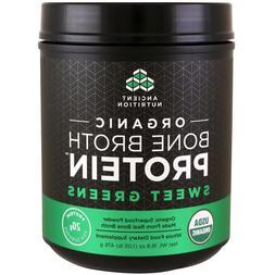 Ancient Nutrition Bone Broth Protein Powder Organic Sweet Gr