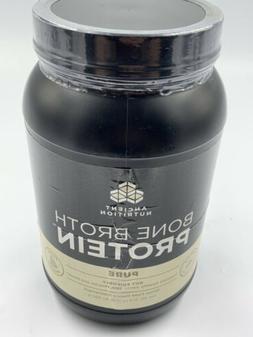 ✔️Ancient Nutrition Bone Broth Protein Powder, Pure - 31