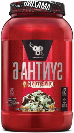 Bsn Syntha 6 Whey Protein Powder Cold Stone Creamery Proteinpowderi