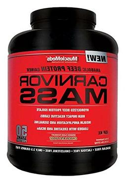 MuscleMeds Carnivor Mass Anabolic Beef Protein Gainer, Choco