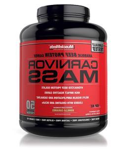 MuscleMeds CARNIVOR MASS High 6 Lb Beef Protein Gainer Pro G