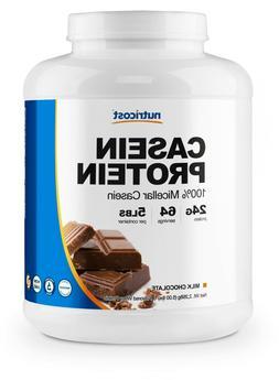 Nutricost Casein Protein Powder 5lb Chocolate - 100% Micella