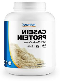 Nutricost Casein Protein Powder 5lb - Micellar Casein, Non-G