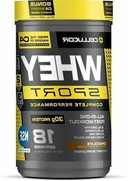 Cellucor Cor-Sport Whey Chocolate Protein Powder - 30.79 oz