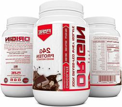 Chocolate Whey Protein Isolate, Keto, 100% Natural Grass Fed