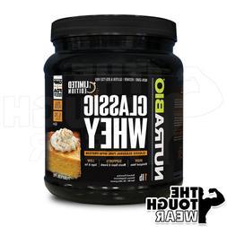NUTRABIO - Classic Whey Protein 1Lb - Pumpkin Pie Flavor - P