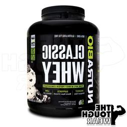 NUTRABIO CLASSIC WHEY PROTEIN 5Lbs - COOKIES AND CREAM - 100