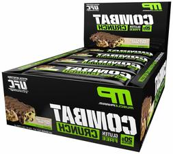 Combat Crunch Protein Bars MusclePharm  Choose Flavor FREE S