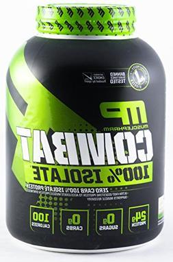 Muscle Pharm Combat 100% Isolate Whey Protein, Vanilla Ice C