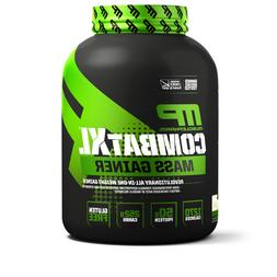 MusclePharm Combat XL Mass Gainer Powder, Vanilla, 6 Pounds