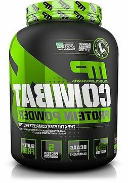 Muscle Pharm Combat Powder Advanced Time Release Protein Cho
