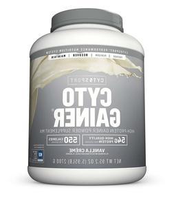 CytoSport Cyto Gainer Protein Powder, Vanilla Shake, 54g Pro