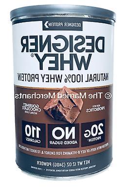 Designer Whey Gourmet Chocolate Whey Protein Powder 12 oz ea