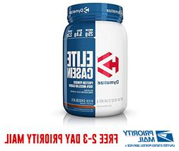 Dymatize Elite Casein 2lb 100% Micellar Casein Protein + Fre