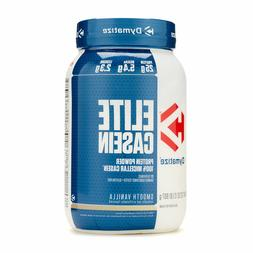 Dymatize Elite Casein 2lb 100% Micellar Casein Protein -Smoo