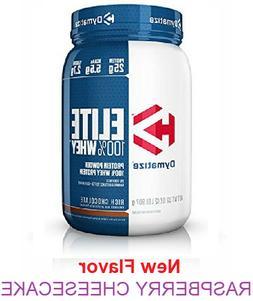 Dymatize Elite Whey Protein 2 Lb 100% Whey Protein Powder