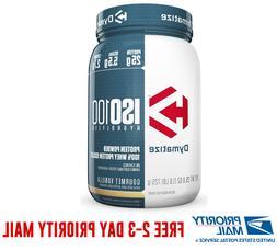 Dymatize ISO-100 Hydrolyzed 100% Whey Protein Isolate 1.6 Lb