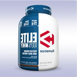 DYMATIZE NUTRITION ELITE WHEY  iso protein bcaa mass 100 gai