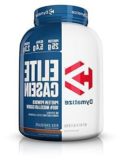 Dymatize Elite Casein Protein Powder, Slow Absorbing with Mu
