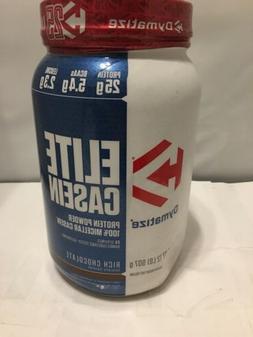 Dymatize Elite 100% Micellar Casein Slow Absorbing Protein,